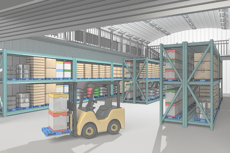 warehouse equipment: Warehouse