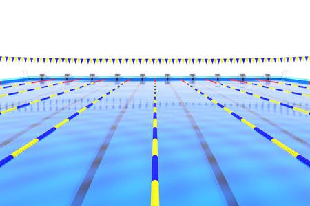 プールの目標 写真素材