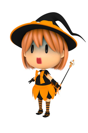 systemic: Halloween Witch Stock Photo