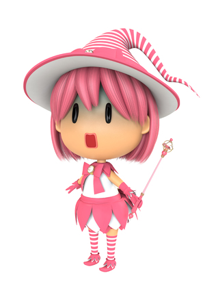 asher: Pink Witch