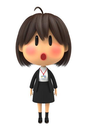 blush: Female staff to blush to