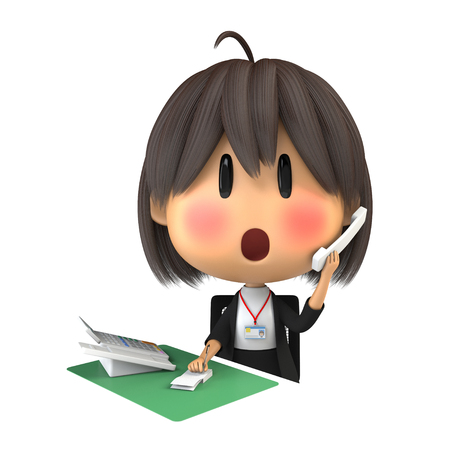 life extension: Female staff to blush to speak on the phone