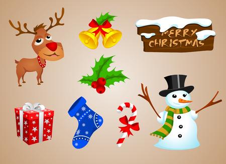 ringtones: Christmas snowman and reindeer