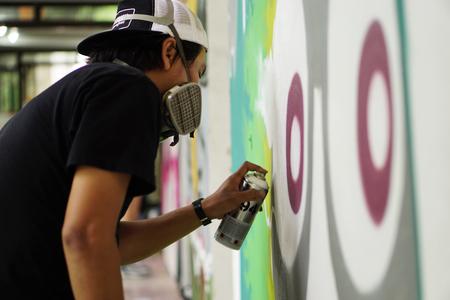 Street art  Spray paint