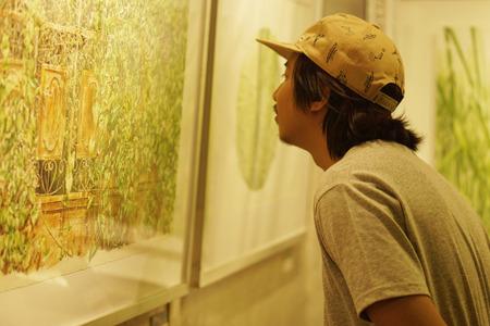 Art gallery  Watercolor