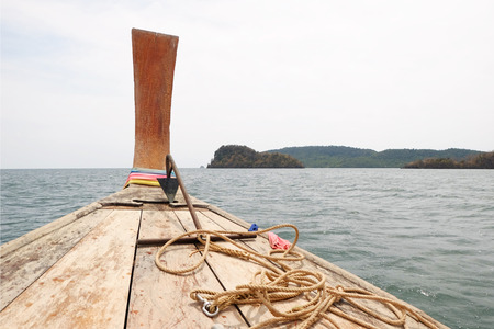 Long-tailed boat  Thailand.