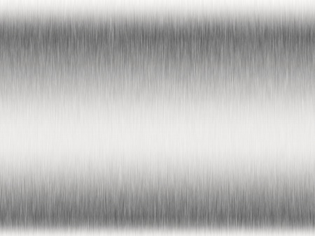 brushed steel: Metal background or texture of brushed steel plate with reflections Iron plate and shiny