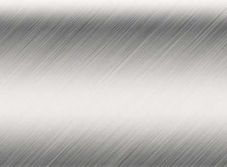 polished floor: Metal background or texture of brushed steel plate with reflections Iron plate and shiny