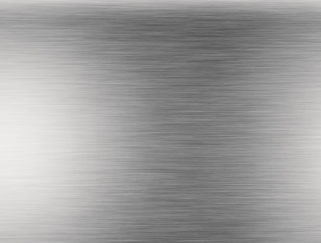 metal: Metal background or texture of brushed steel plate with reflections Iron plate and shiny