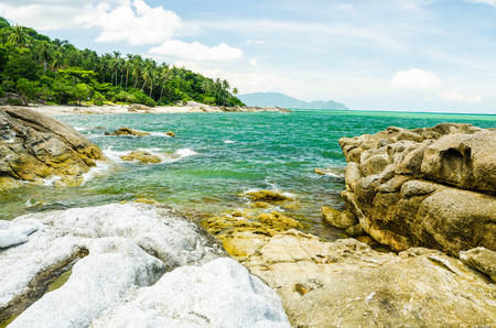 suny: Sea and suny beach in Thailand nature view