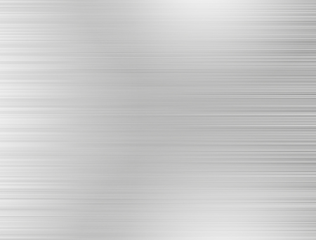 brushed: Metal background or texture of brushed steel plate with reflections Iron plate and shiny