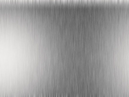 polished floor: Metal silver background or texture of brushed steel plate with reflections Iron plate and shiny Stock Photo