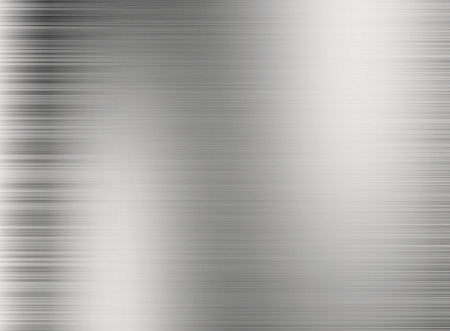 steel plate: Metal silver background or texture of brushed steel plate with reflections Iron plate and shiny Stock Photo
