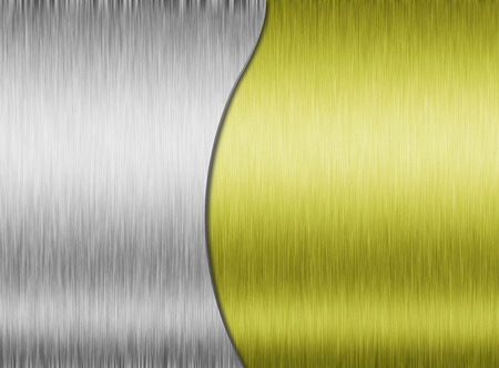 brigh: Metal background or texture of brushed steel plate with reflections Iron plate and shiny
