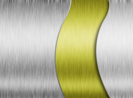 polished floors: Metal background or texture of brushed steel plate with reflections Iron plate and shiny