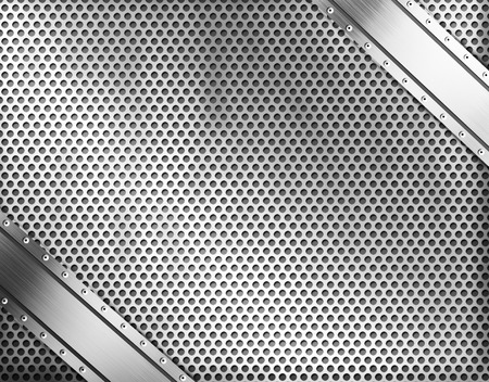 steel texture: Metal background or texture of brushed steel plate with reflection