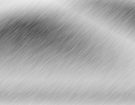 metal, stainless steel texture background with reflection Archivio Fotografico