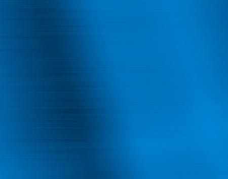 polished: Blue metal background Stock Photo