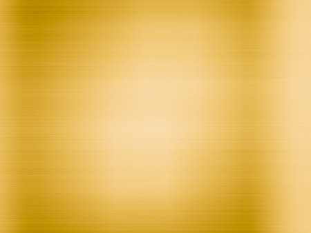 reflection: Gold polished metal, steel texture