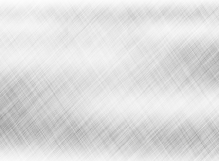 metal, stainless steel texture background with reflection Stock Photo