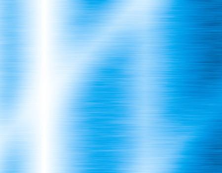 brushed: Blue metal background Stock Photo