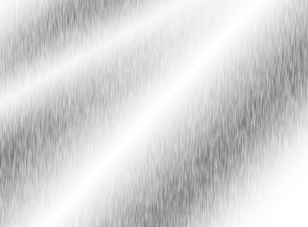 metal, stainless steel texture background with reflection Standard-Bild - 91976803