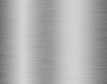 Fondo de textura de metal, acero inoxidable con reflejo