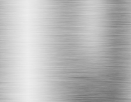 metal, stainless steel texture background with reflection Imagens