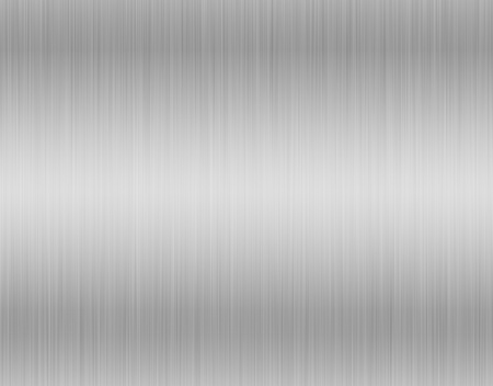 Metal, stainless steel texture background with reflection Stockfoto