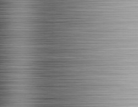 metallo, sfondo trama in acciaio inox con la riflessione Archivio Fotografico