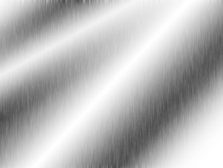 metal, stainless steel texture background with reflection Reklamní fotografie