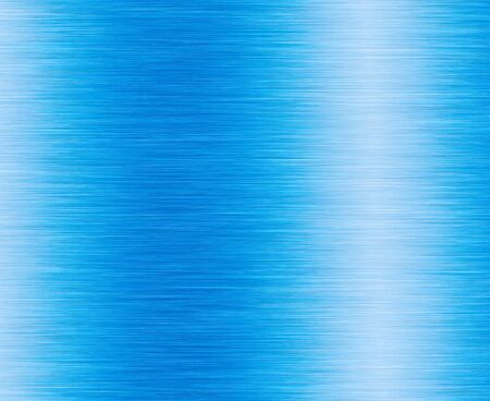 Metal blue background or texture of brushed steel plate with reflections Zdjęcie Seryjne