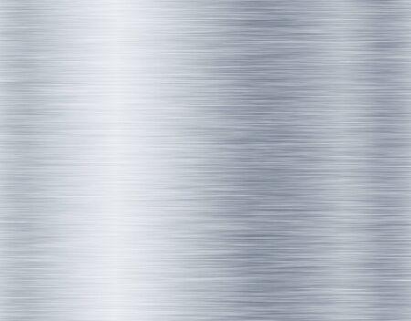 métal, fond de texture en acier inoxydable Banque d'images