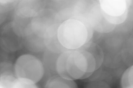 Abstract black bokeh background Stock Photo