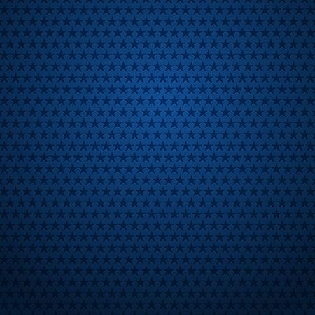Blue background with stars Ilustração