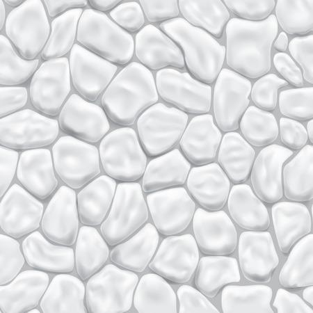 piedra laja: Patr�n transparente de piedras en colores blanco