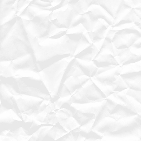 crumpled: Background of square sheet of white crumpled paper