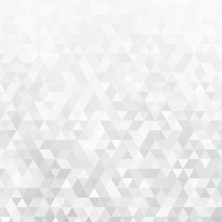 Abstrakter Hintergrund der kleinen grauen Dreiecken Illustration