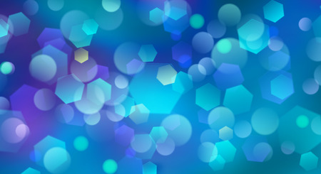 boke: Abstract blurred background with bokeh effect in light blue colors