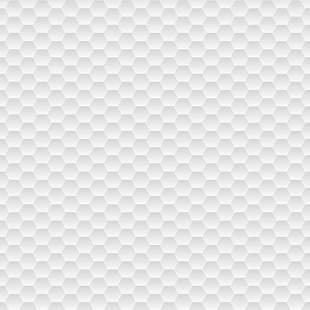 white tile: Seamless pattern of small hexagons in gray colors