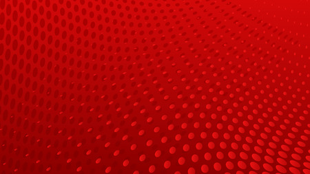 Abstract halftone dots background in red colors Vettoriali