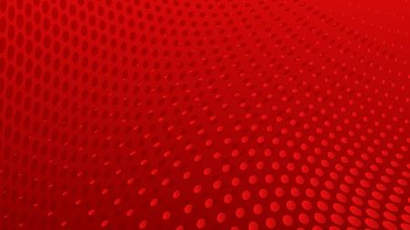 Fundo de pontos de meio-tom abstrato em cores vermelhas
