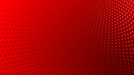 Abstract halftone dots background in red colors Vectores
