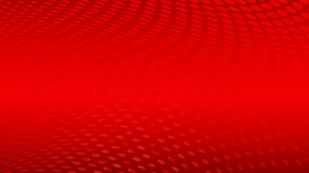 Abstract halftone dots background in red colors Ilustração