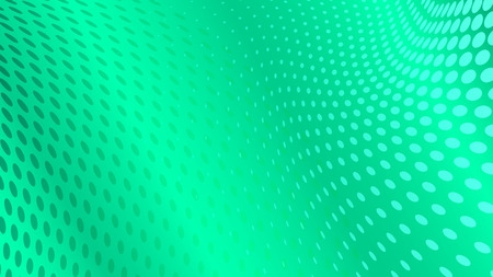 gradation art: Abstract halftone dots background in turquoise colors