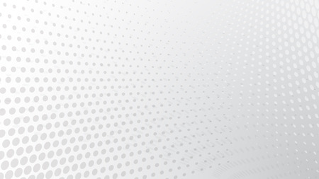 Abstract halftone dots background in white colors