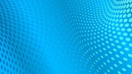 fondo geometrico: Resumen de antecedentes de los puntos de semitono en colores azules claros