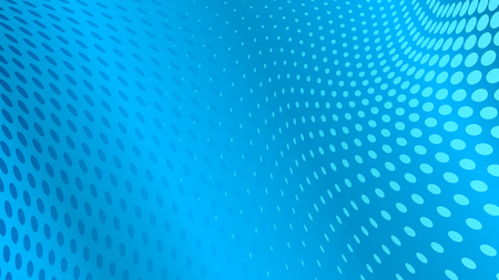 Abstract halftone dots background in light blue colors Illustration