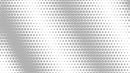 gray colors: Abstract halftone dots background in gray colors Illustration