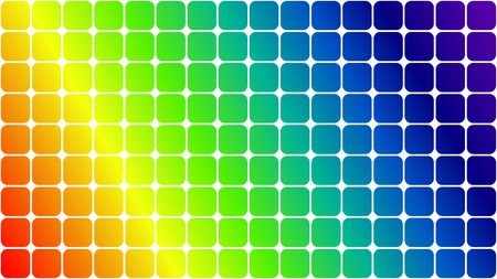 rainbow abstract: Abstract background of squares in rainbow colors